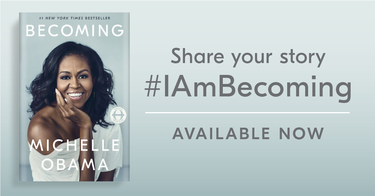 Becoming by Michelle Obama | Crown Publishing